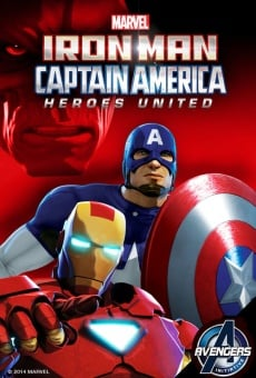Película: Iron Man and Captain America: Heroes United