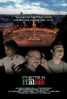 Watch It's Better in Italian online stream