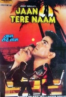Ver película Jaan Tere Naam