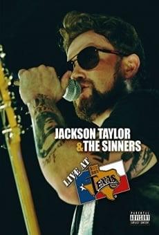 Ver película Jackson Taylor & the Sinners: Live at Billy Bob's Texas
