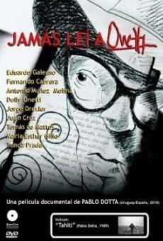 Ver película Jamás leí a Onetti