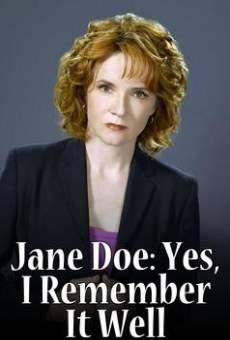 Ver película Jane Doe: Escrito en la memoria