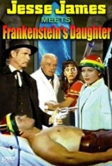 Jesse James contra la hija de Frankenstein online