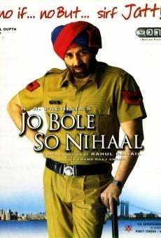 Ver película Jo Bole So Nihaal