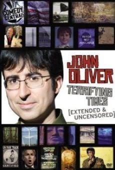 Ver película John Oliver: Terrifying Times