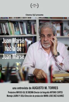 Juan Marsé habla de Juan Marsé on-line gratuito