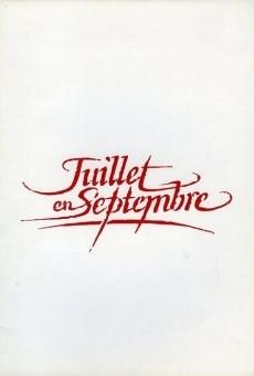 Ver película Juillet en septembre