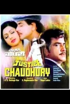 Ver película Justice Chaudhury