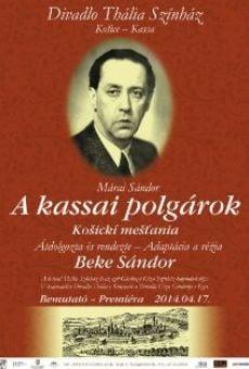 Ver película Kassai polgárok