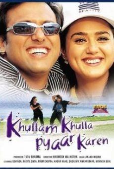 Ver película Khullam Khulla Pyaar Karen