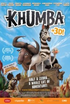 Ver película Khumba, la cebra sin rayas