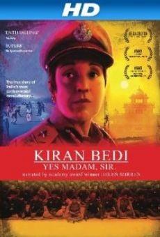 Watch Kiran Bedi: Yes Madam, Sir online stream