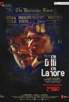 Ver película Kya Dilli Kya Lahore