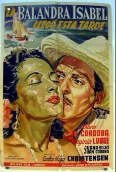 Ver película La balandra Isabel llegó esta tarde