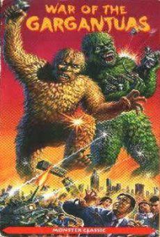Ver película La batalla de los simios gigantes