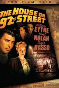 Ver película La casa de la calle 92