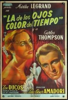 Ver película La de los ojos color del tiempo