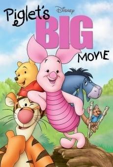 La gran película de Piglet online
