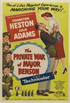 The Private War of Major Benson gratis