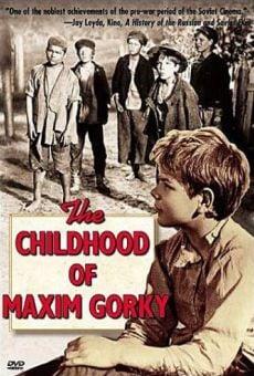 L'enfance de Gorky en ligne gratuit