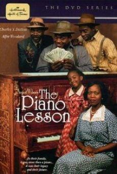 Ver película La lección de piano