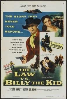 Billy the Kid contre la loi en ligne gratuit