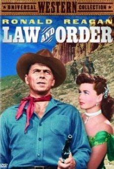 Ver película La ley y el orden