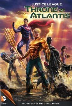 Película: La liga de la justicia: El trono de Atlantis