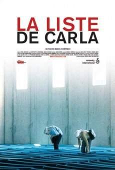 Ver película La lista de Carla