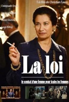 Ver película La loi, le combat d'une femme pour toutes les femmes