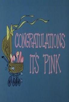 Blake Edwards' Pink Panther: Congratulations It's Pink gratis