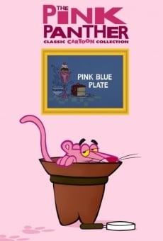 Blake Edward's Pink Panther: Pink Blue Plate