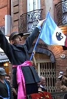La parade du président Salengro à Toulouse pour célébrer l'annexion de l'Occitanie par Groland online