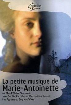 La petite musique de Marie-Antoinette online