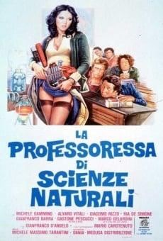 La professoressa di scienze naturali online