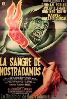 La sangre de Nostradamus on-line gratuito