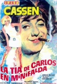 Ver película La tía de Carlos en minifalda