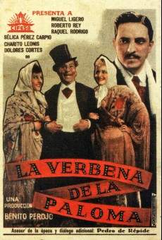 Ver película La verbena de la Paloma