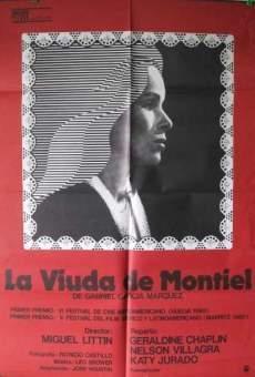 Ver película La viuda de Montiel