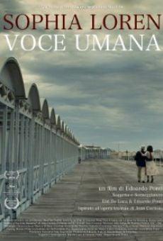 La voce umana on-line gratuito