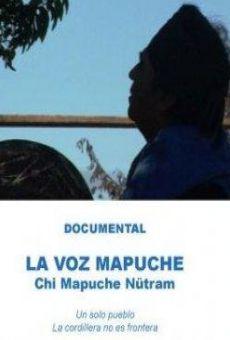 Ver película La voz mapuche