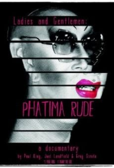 Ladies and Gentlemen: Phatima Rude