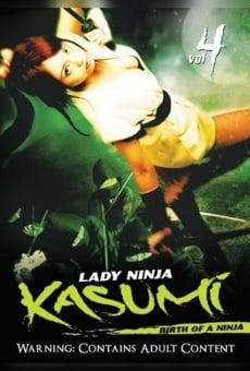 Ver película Lady Ninja Kasumi 4: Birth of a Ninja