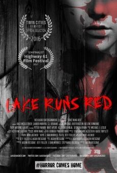 Lake Runs Red online