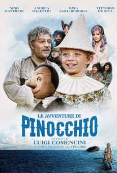 Ver película Las aventuras de Pinocho