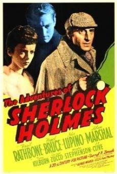 The Adventures of Sherlock Holmes gratis