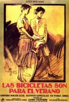 Ver película Las bicicletas son para el verano
