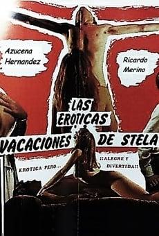 Las eróticas vacaciones de Stela online