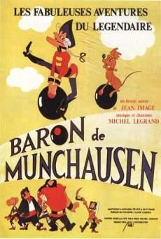 Las fabulosas aventuras del barón Munchausen online