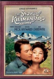 Ver película Las nieves del Kilimanjaro